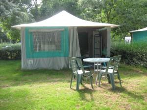 Exterieur bungalow-toilé